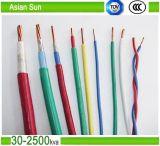 Fio de cabo isolante de PVC multi-Strand isolante de núcleo único AWG14 / AWG12 Thw Cable Wire