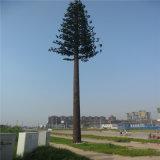 Tour d'antenne cellulaire de tour de camouflage de palmier de mât de transmission