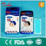 Adulto frío de enfriamiento del cabrito del alivio de tensión del dolor de la fiebre del dolor de cabeza de la corrección del gel 10 horas