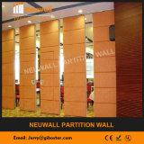 Акустическая сползая стена перегородки для гостиницы/трактира