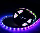 5V 화소 피치 풀 컬러 LED 코드 지구 Ws2801 32LED/M
