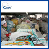중국 제조자에 의하여 주문을 받아서 만들어지는 민감하는 인쇄된 깃발 비치 타올
