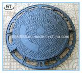 En124頑丈な延性がある鉄の下水道の円形のマンホールカバー