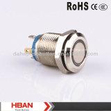 Hbanの平らなヘッドによってリング照らされるスイッチIP65
