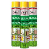 Ruedas llenadas sellante de extensión conservadas aerosol de la espuma de la PU