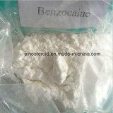 Benzocaine anestésico local del 99% Benzocione para CAS Anti-Que duele 94-09-7
