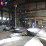 Tête ellipsoïde d'acier du carbone de bonne qualité/tête hémisphérique/tête bombée