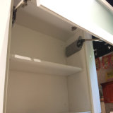 Armadio da cucina bianco della pittura di alta lucentezza moderna