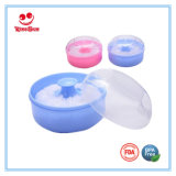 BPA Free Plastic Baby Powder Puff Container