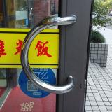 Porte en aluminium Kz048 de tissu pour rideaux de bon double de traitement extérieur