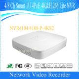 Dahua 4 intelligente 1u 4poe 4k&H. 265 Lite Überwachung NVR (NVR4104-P-4KS2) des Kanal-