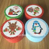 新しいクリスマスの円形のギフト用の箱の小さい円形のペーパーギフト用の箱
