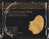 masque facial de collagène de l'or 24k de pore ride pure de nettoyeur d'anti pour le salon de beauté
