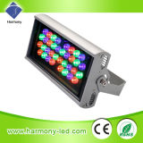 Proyector impermeable del IP65 36W RGB LED