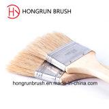 Cepillo de pintura de madera de la cerda de la manija (HYW001)