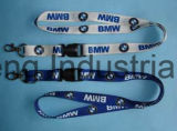 Promotioal Heat-Transfer Impressed Custom Logo Lanyard for Gifts