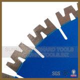 Granite (Sunny Tools 015)를 위한 최고 Quality W Shape Diamond Wet Cutting Disc