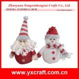 Decoración de Navidad (ZY15Y064-1-2) de juguete de Navidad