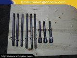 Präzision CNC bearbeitete geschmiedete Stahlwelle-Welle maschinell