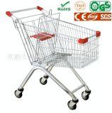 Магазинные тележкаи & вагонетка металла супермаркета