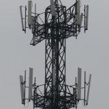 Torre Telecom del solo tubo de acero con alta calidad