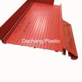 Grande rojo de encargo de UPVC Perfil De Dongguan