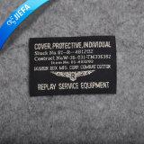 Escritura de la etiqueta tejida cañería de vestir lavable modificada para requisitos particulares de los 2cm *7cm