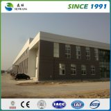 Entrepôt léger préfabriqué de structure métallique de bâti
