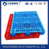 Großes perforiertes HDPE bereiten Zahnstangen-Plastikladeplatte für Industrie auf (Zoll 48X40)