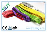 GS de levage sans fin de la CE de bride de sangle de fibre de 1-10t Sln Synthectic