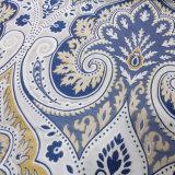 Tela de tapicería tejida poliester viscoso del telar jacquar del extremo superior