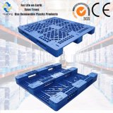 安い価格の良質のHDPEの青いプラスチックパレット