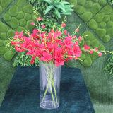 Vase acrylique à mariage de cylindre grand clair créateur