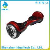 Scooter électrique mini auto-équilibre rouge de 6.5 pouces