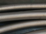 Manguito acanalado de alta presión del metal flexible