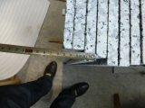 Цветка гранита упаковки деревянной клети G439 Китая плитка гранита естественного Polished большого белая для лестницы/пола