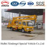 14-16m Dongfengの空気のプラットホームのトラック