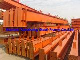 Panneaux préfabriqués de poutre en double T/Purline/toit/mur ou de Decking de structure métallique