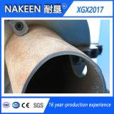 Cortadora del plasma del tubo del metal del CNC con el cartabón