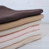 Ispessire il tessuto dell'indumento del cotone del tessuto di saia della pelle della pesca