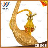 Antike konzipierende Huka Shisha grosse Pfau-Glasform