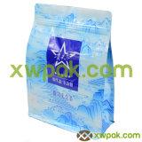 La poche chinoise de cadre de papier d'emballage d'usine avec le papier d'aluminium de soupape et a rayé