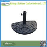 Стойка смолаы основания зонтика напольного половинного патио круглая