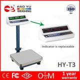 Échelle électronique automatique de Platfrom des prix de LCD/LED mini