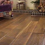 Handscraped roble blanco pisos de madera dura