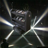 고성능 8*10W 백색 LED 거미 광속 이동하는 헤드