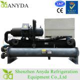 Condicionador de ar de refrigeração água do refrigerador do parafuso do certificado do Ce