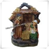 Polyresinの宗教クラフトの記念品の宗教彫像は卸し売りする(IOca045)
