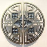 Punho de porta de madeira do metal do aço inoxidável do bronze da antiguidade do punho de porta do estilo chinês