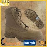 2016の新しい方法スエード牛革メンズ安全靴の軍の戦術的な砂漠ブート
